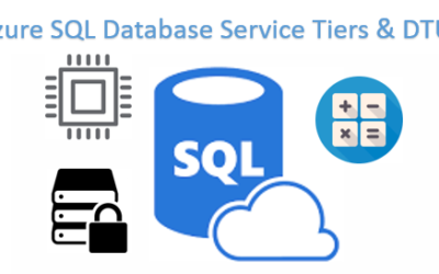 Azure SQL Database Service tiers and DTUs