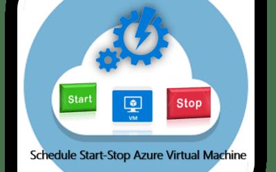Schedule Start-Stop Azure Virtual Machine