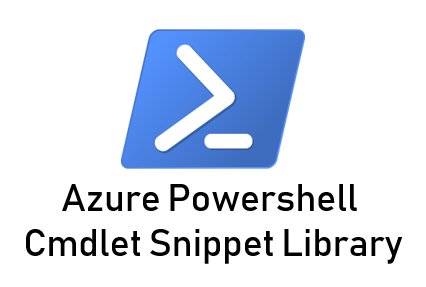 azure cmdlet snippet library