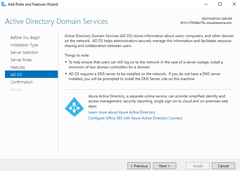 Merge Multiple Domain Controllers Into Azure Nested