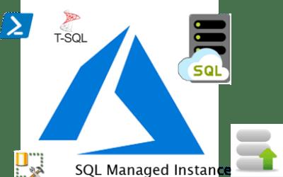 Restore Database To SQL Managed Instance