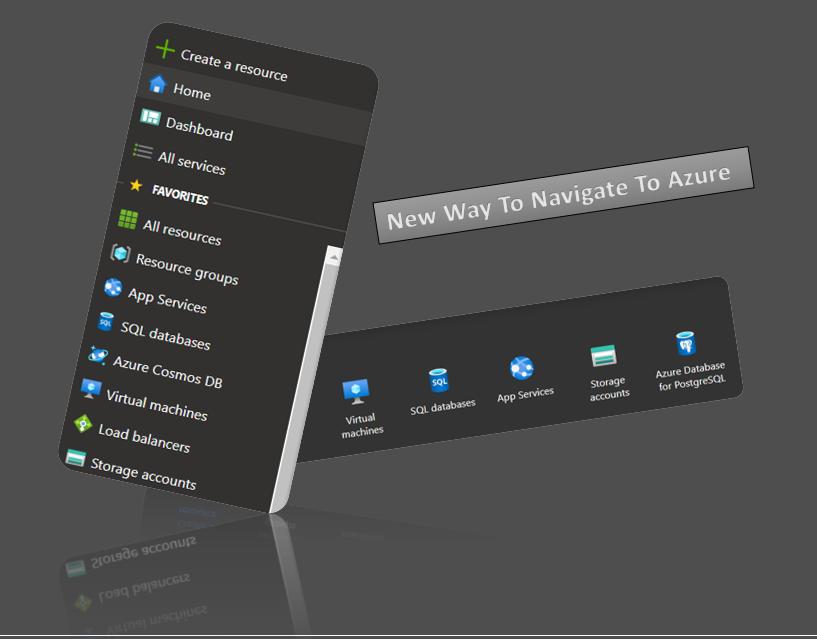 Azure Portal: New Way To Navigate To Azure
