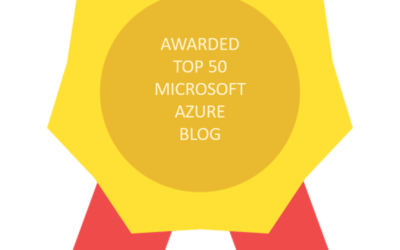 cloudopszone listed among Top 50 Feedspot Microsoft Azure Blogs in 2019