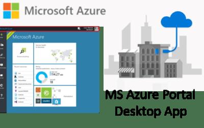 Azure Portal Desktop App (Preview)