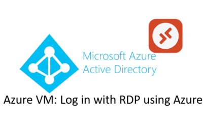 Azure VM: Log in with RDP using Azure AD